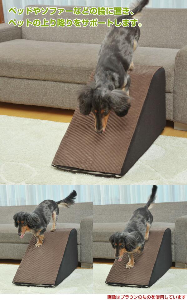 ペットの上り降りをサポート