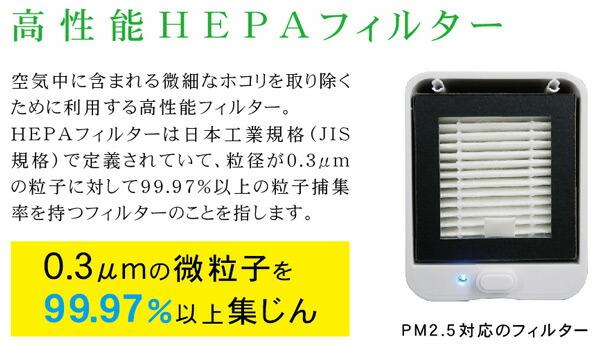 高性能HEPAフィルター