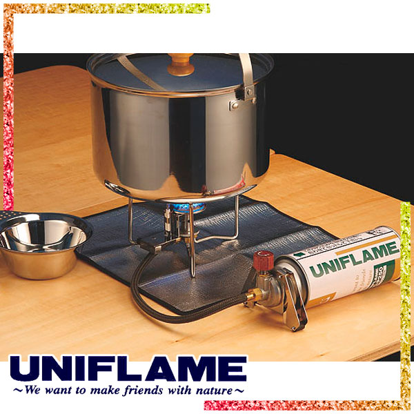 ユニフレーム(UNIFLAME) バーナーシート 大 (断熱シート) 610657