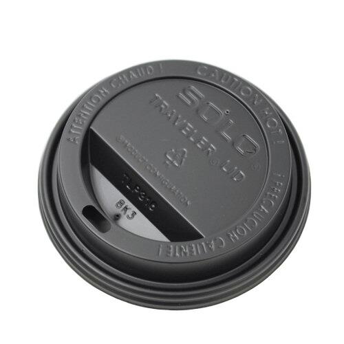 SOLO 紙コップ10オンス用LID(黒)1000枚