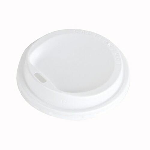 厚紙8オンス(SMT-280用) LIDフタ 100枚_業務用_ホット用_紙カップ_フタ_イベント_テイクアウト