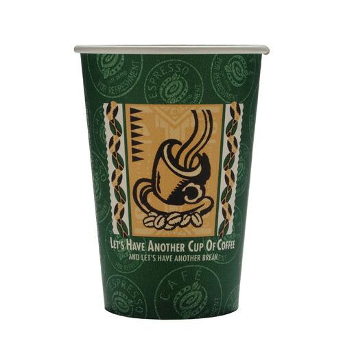 厚紙コップ14オンス(SMT-400)レッツコーヒー 1000個