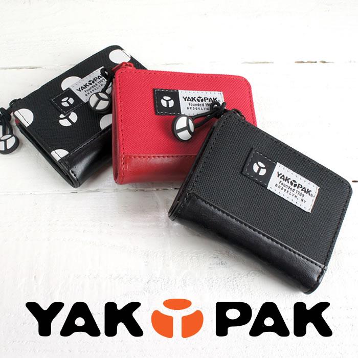 説明1|小銭入れ コインケース メンズ L字ファスナー レディース カジュアル ジッパー アコーディオン ジャバラ コンパクト 軽い 軽量 ナイロン YAKPAK ヤックパック