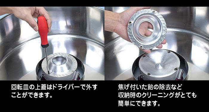 業務用【わたがし名人プロ】ワゴン