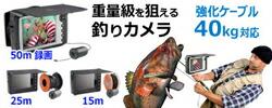 フィッシングカメラなら魚が丸見え!モニターで見ながら釣るハイテク釣りカメラ