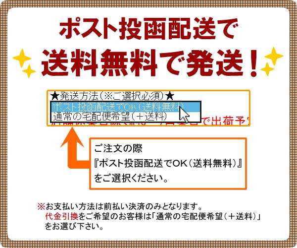 ポスト投函配送で送料無料!