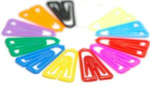 カラフルなアソートパック。何色のクリップが入っているかはお楽しみ。
