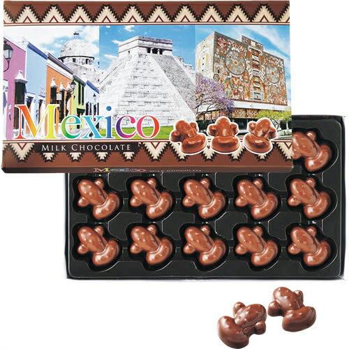 メキシコ サボテンチョコ1箱【メキシコ お土産】|チョコレート アメリカ カナダ 南米 メキシコ土産 おみやげ お菓子 sa1204