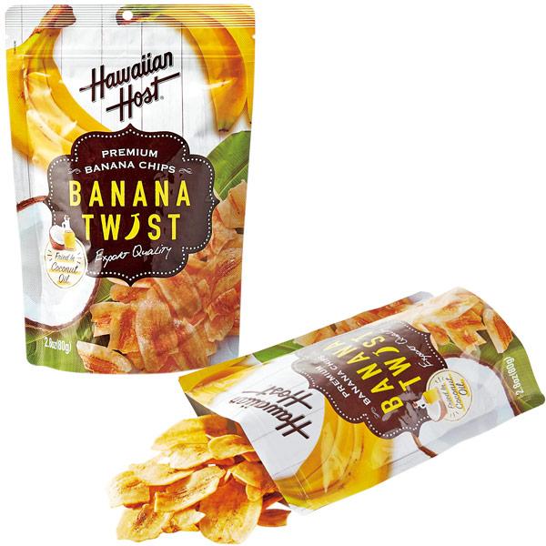 【ハワイ お土産】Hawaiian Host(ハワイアンホースト)|ハワイアンホースト バナナチップス1袋|お菓子【お土産 食品 おみやげ ハワイ 海外 みやげ】ハワイ お菓子 sa1204