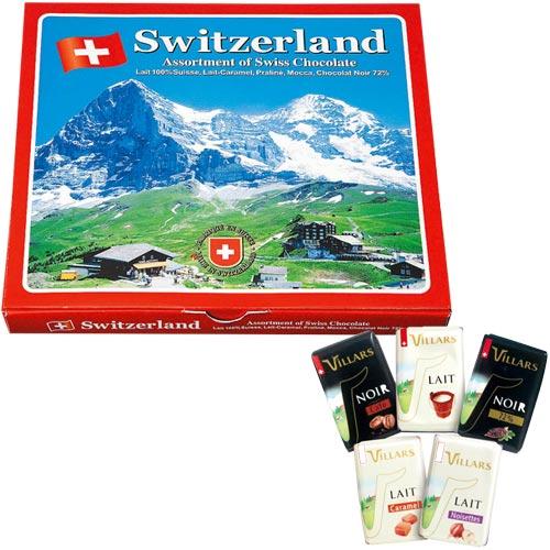 スイス ナポリタンアソートチョコ1箱【スイス お土産】|スイス お土産 チョコレート ヨーロッパ スイス土産 おみやげ お菓子 sa1204