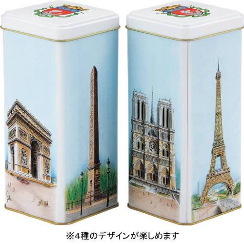 パリ モニュメント缶入りビスケット1缶