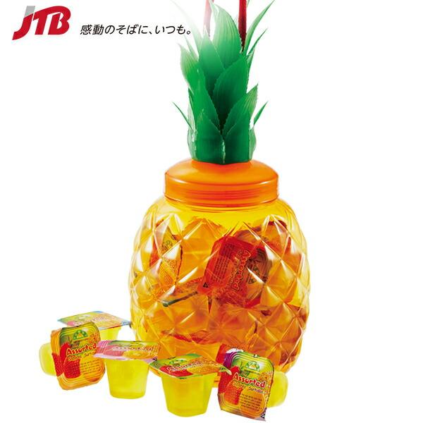 【台湾 お土産】パイナップル容器入りゼリー|プリン・ゼリー アジア 食品 台湾土産 おみやげ