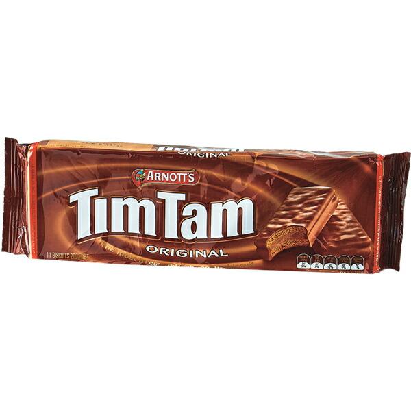 【訳あり特価】【オーストラリア お土産】TimTam ティムタム オリジナル 11枚入x4袋セット ARNOTT'S アーノッツ|チョコレート お菓子【お土産 食品 おみやげ オーストラリア 海外 みやげ】オーストラリア チョコレート sa1019
