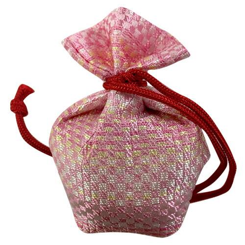 【半額】香老舗薫玉堂 にほい袋 ピンク【匂い袋 香り 香り袋 におい袋 白檀 仏具】 帰省土産 sa1204