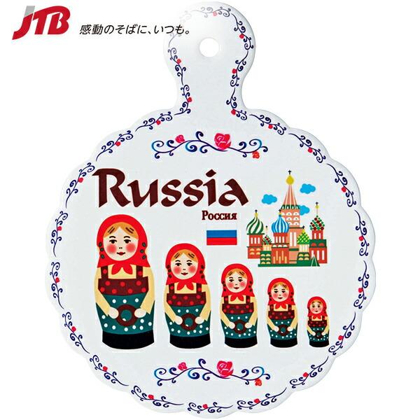 【5%OFFクーポン対象】ロシア鍋敷き【ロシア お土産】|ロシア人形 マトリョーシカ 鍋敷き ヨーロッパ 雑貨 ロシア土産 おみやげ