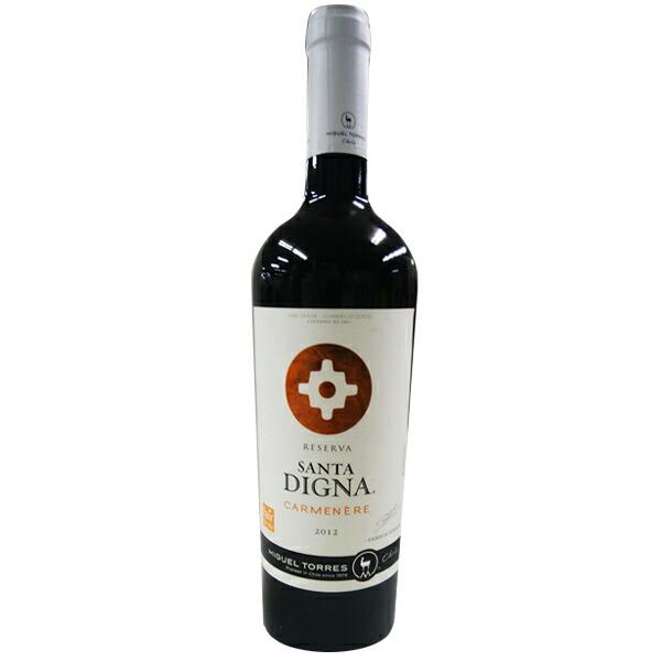 【チリ お土産】サンタディグナカルムネール 赤ワイン 1本(750ml)|お酒 チリ土産 チリワイン sa0304