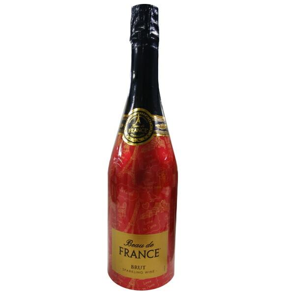 【在庫処分】【フランス お土産】ボー・ド・フランス ブリュット スパークリングワイン 1本(750ml)|フランスワイン お酒 アルコール フランス土産 sa1019