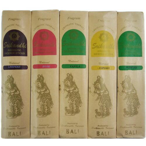 【バリ島 インドネシア お土産】お香スティック5袋セット|東南アジア 雑貨 バリ島 インドネシア土産 おみやげ sa0304