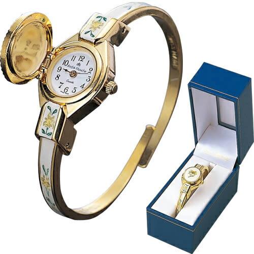 【スイス お土産】アンドレムッシュ ブレスレットウォッチ 腕時計 sa0304