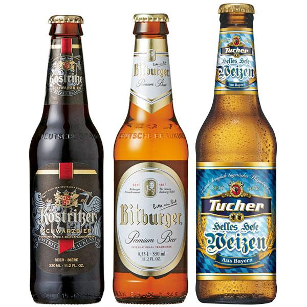 【ドイツ お土産】ドイツビール 飲み比べ12本セット|ビール ヨーロッパ お酒 ドイツ土産 おみやげ sa0304