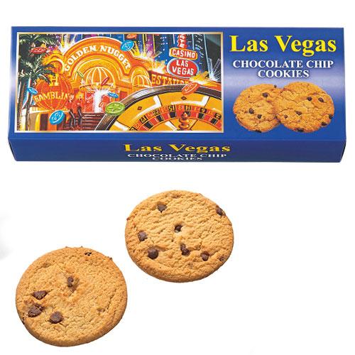 【アメリカ お土産】ラスベガス チョコチップクッキー3箱セット|クッキー アメリカ カナダ 南米 食品 アメリカ土産 おみやげ お菓子 sa0304