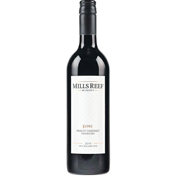 【ニュージーランド お土産】MILLSREEF ミルズリーフ メルローカベルネ 赤ワイン 1本(750ml)|お酒【お土産 お酒 おみやげ ニュージーランド 海外 みやげ】ニュージーランド 赤ワイン sa0304