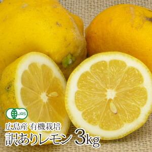 広島産 無化学農薬訳ありレモン3kg