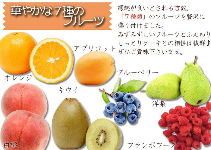 フルーツ種類