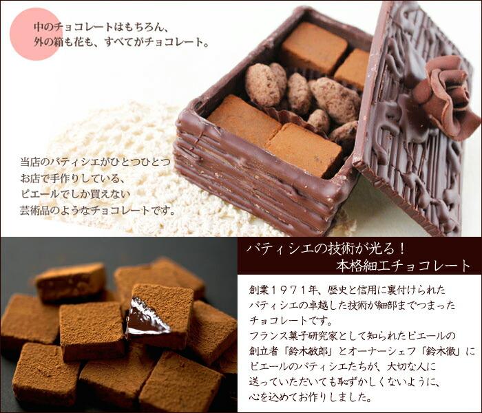 箱も全部チョコ