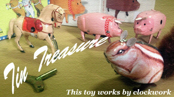 TIN TREASURE ブリキのおもちゃ チントレジャー