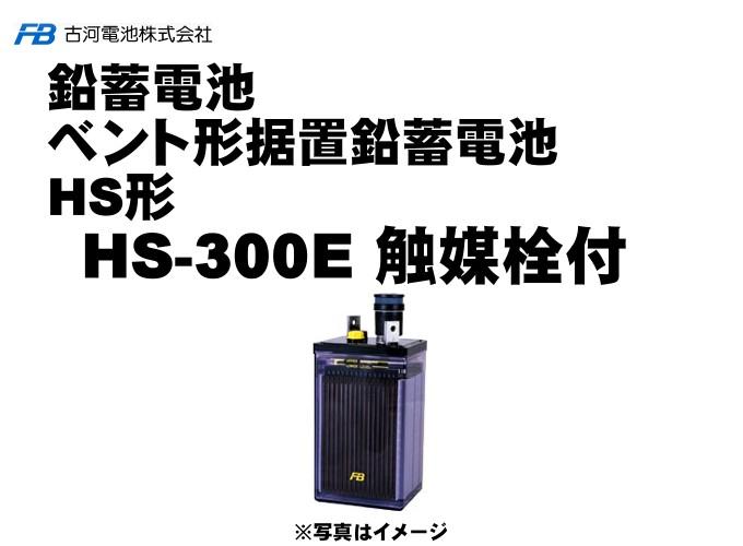 【受注生産】HS300E 触媒栓付【古河電池】据置鉛蓄電池HS形(バッテリー) 2V 1
