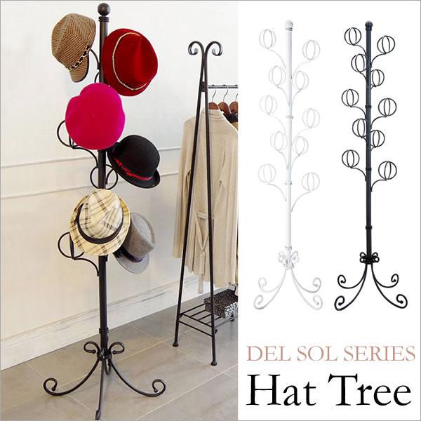 『Del Sol 帽子ツリー』 玄関収納 1