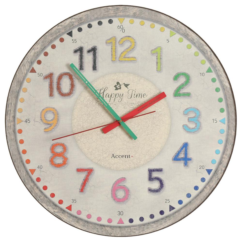 知育時計カラフルフレンチ