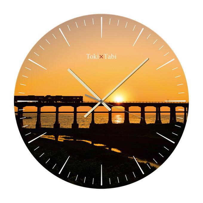 惣郷川橋梁の夕日
