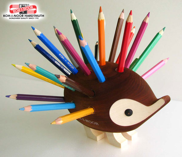 ハリネズミ色鉛筆24色
