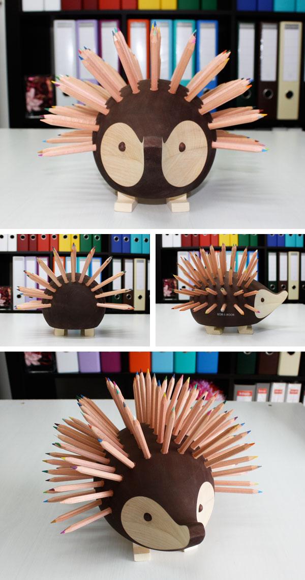 ハリネズミ色鉛筆96色