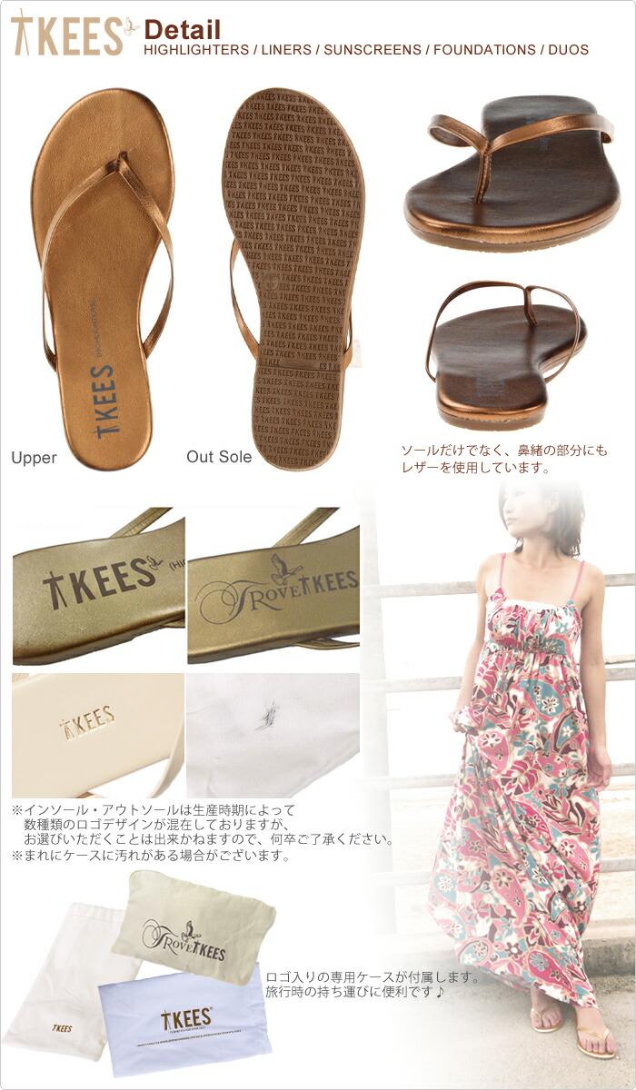 TROVE TKEES 【トローブ ティキーズ】 レザービーチサンダル