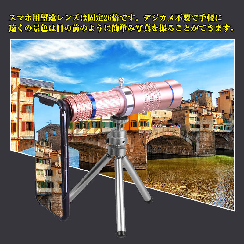 26X光学レンズ