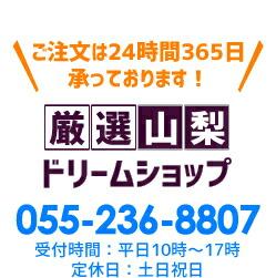 厳選山梨ドリームショップ 055-269-5947