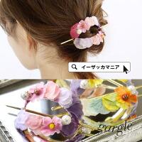 pastelflowermixオーナメントスティック