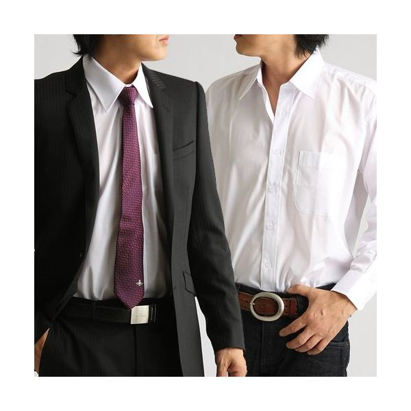 【送料無料】百貨店取り扱いメーカー ホワイトワイシャツ ホワイト Mサイズ ファッション スーツ・ワイシャツ ワイシャツ その他のスーツ・ワイシャツ レビュー投稿で次回使える2000円クーポン全員にプレゼント