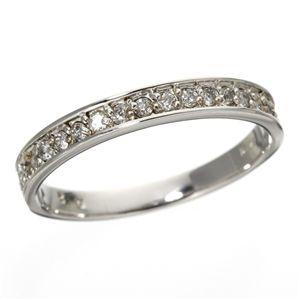 10000円以上送料無料 0.2ct ダイヤリング 指輪 エタニティリング 19号 ファッション リング・指輪 天然石 ダイヤモンド レビュー投稿で次回使える2000円クーポン全員にプレゼント