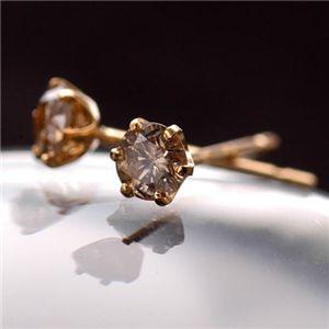 10000円以上送料無料 18K0.2ctダイヤモンドピアス ファッション ピアス・イヤリング 天然石 ダイヤモンド レビュー投稿で次回使える2000円クーポン全員にプレゼント
