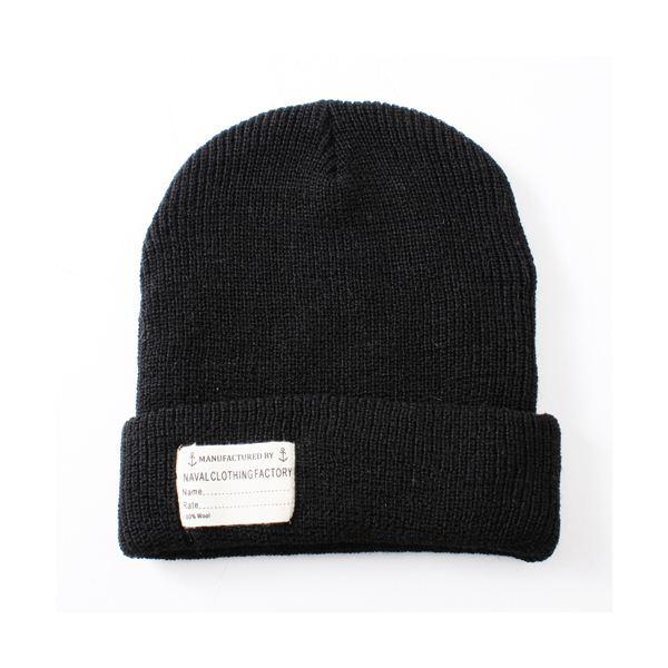10000円以上送料無料 NAVA L C LOTHING FACTORY ウォッチキャップレプリカ ブラック ファッション 帽子・キャップ・ハット レディース帽子 レビュー投稿で次回使える2000円クーポン全員にプレゼント