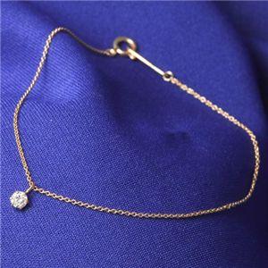 【送料無料】K18PG ダイヤモンドブレスレット ファッション ブレスレット 天然石 その他の天然石 レビュー投稿で次回使える2000円クーポン全員にプレゼント
