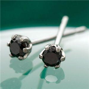 K18 0.1ctブラックダイヤモンドピアス ファッション ピアス・イヤリング 天然石 ダイヤモンド レビュー投稿で次回使える2000円クーポン全員にプレゼント