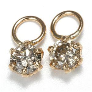 K18 0.2ctダイヤモンドチャーム ピンク(PG) ファッション その他のアクセサリー その他のアクセサリー レビュー投稿で次回使える2000円クーポン全員にプレゼント