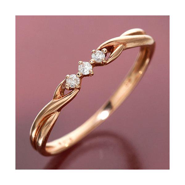 10000円以上送料無料 K10PG ダイヤリング ツイストリング(指輪)【10金ピンクゴールド】184275 11号 ファッション リング・指輪 天然石 ダイヤモンド レビュー投稿で次回使える2000円クーポン全員にプレゼント