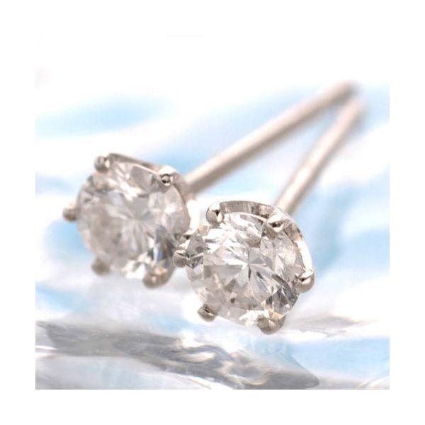5000円以上送料無料 Pt900 計0.2ct一粒ダイヤモンドピアス(プラチナ)24820 ファッション ピアス・イヤリング 天然石 ダイヤモンド レビュー投稿で次回使える2000円クーポン全員にプレゼント