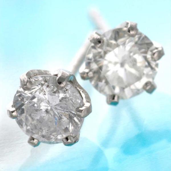 10000円以上送料無料 0.5ct ダイヤモンドピアス プラチナピアス ファッション ピアス・イヤリング 天然石 ダイヤモンド レビュー投稿で次回使える2000円クーポン全員にプレゼント